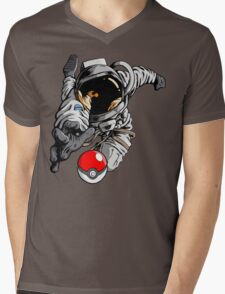 Gotta' Reach Em' All Mens V-Neck T-Shirt