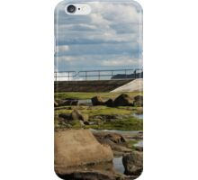 Merewether At Low Tide - Panorama iPhone Case/Skin