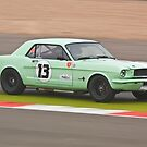 Green 1965 Ford Mustang by Willie Jackson