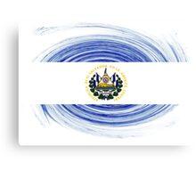 El Salvador Twirl Canvas Print