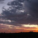 A Los Angeles Stormy Autumn Sunset  by Jennifer  Gaillard