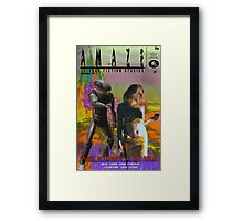 Amaze Mag Sept 1959 Framed Print