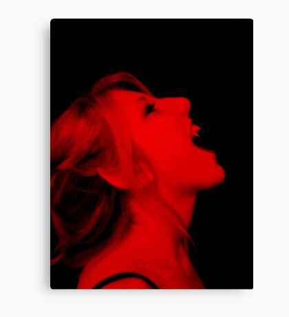 Vampire Red Canvas Print