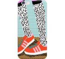 Spiffy - shoes art print memphis design style modern colorful california socal los angeles brooklyn hipster art pattern  iPhone Case/Skin