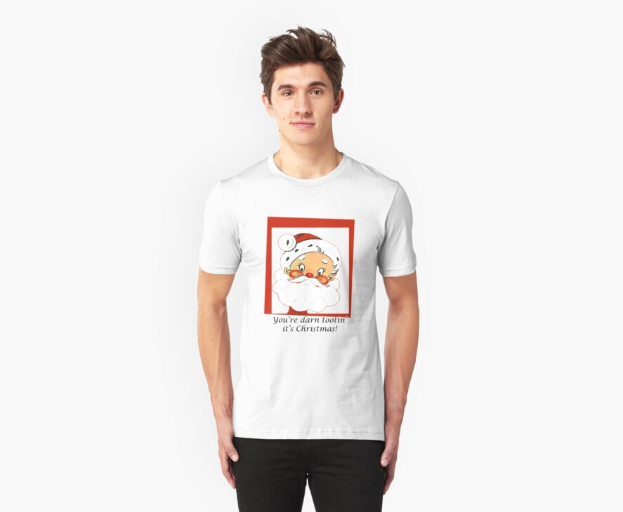 Cartoon Santa Claus T-Shirt by simpsonvisuals