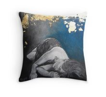 Beyond Glass Gates Of Dream Throw Pillow