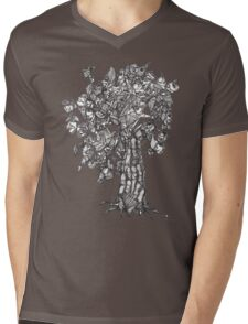 The Tree of the Strange the Fruit Mens V-Neck T-Shirt