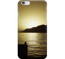 Sunset in Croatia iPhone Case/Skin