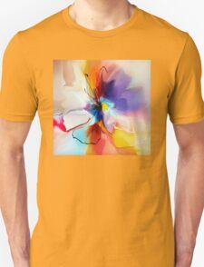 violet creative flower Unisex T-Shirt