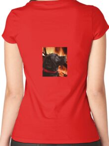 Warming Women's Fitted Scoop T-Shirt