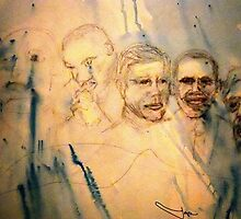 New Mt Rushmore by Joyce MacPhee