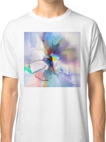 blue violet creative flower Classic T-Shirt
