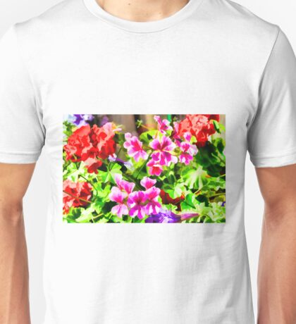 Floral Design 5 Light Unisex T-Shirt