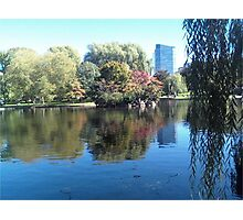 Water on Boston Photographic Print
