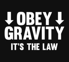 Obey Gravity. It's The Law. by AmazingVision