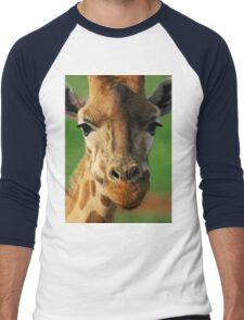 Giraffe Men's Baseball ¾ T-Shirt
