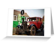1935 Austin Ruby Saloon Greeting Card