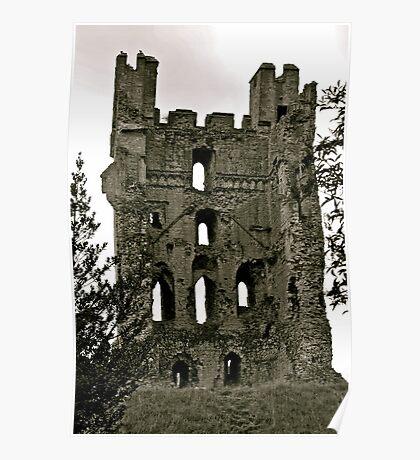 Castle of Helmsley. Poster