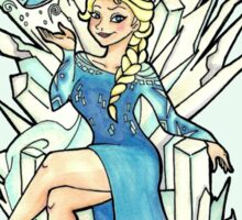 A Frozen Winter is Coming Sticker