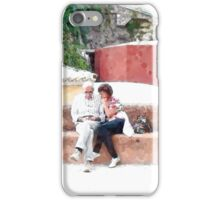 Positano: tourist iPhone Case/Skin