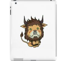 Red Feral Druid iPad Case/Skin