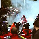 Foggy Burn out (Carl Fogarty) no 1 by lendale