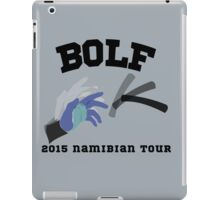 Bolf - 2015 Namibian Tour iPad Case/Skin