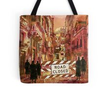 The pedestrians Tote Bag