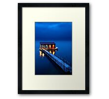 On a storyteller's night Framed Print