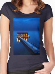 On a storyteller's night Women's Fitted Scoop T-Shirt