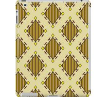 Retro geometric pattern iPad Case/Skin