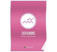 Neurotransmitter Series: Dopamine Poster