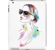 Fashion beautiful woman  iPad Case/Skin
