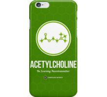 Neurotransmitter Series: Acetylcholine iPhone Case/Skin