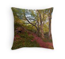 Northumberland Woodland Throw Pillow