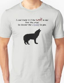 Wolf and Sheep (Light Colors) Unisex T-Shirt