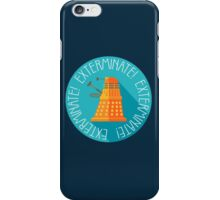 Doctor Who Dalek Exterminate! iPhone Case/Skin