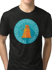 Doctor Who Dalek Exterminate! Tri-blend T-Shirt