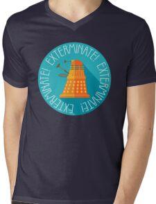 Doctor Who Dalek Exterminate! Mens V-Neck T-Shirt