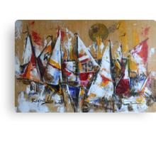 Trim Sails Canvas Print