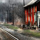 """""""Standing Trackside"""" by canonman99"""
