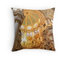 Granada Cathedral Throw Pillow