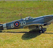 RAF Spitfire by Ruffdog64