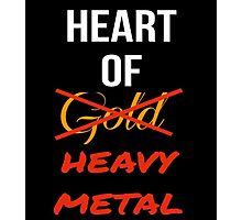 Heart Of Heavy Metal Photographic Print