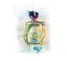 a beautiful bottle of perfume5 by Teni