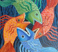 Feeding Frenzy by Sally Sargent