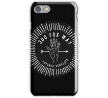 fox way iPhone Case/Skin