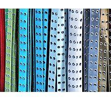 Belts Photographic Print