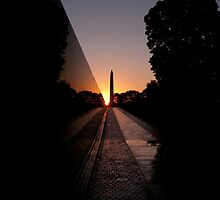 Memorial Sunrise by Eric G Brown