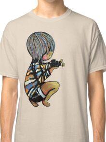 Smile baby macro photography Classic T-Shirt